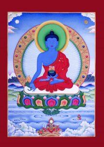 Medzinbuddha-Thangka